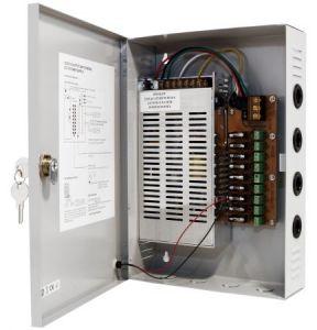 9 Kanal CCTV Netzgerät 200-240V AC / 12V DC, 16A - IS-Z31