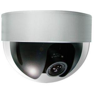 Farb Dome-Kamera mit 1/3'' Panasonic HR CCD 520TVL 4~9mm AI-Objektiv - IS-KA101