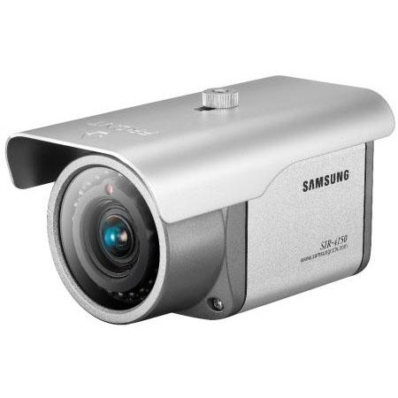 """1/3"""" Samsung CCD IR Überwachungskamera 520/570TVL, 3,8-9,5mm Objektiv, 30m Nachtsicht - SIR-4150P"""