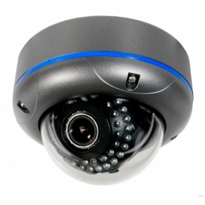 Vandalensichere Dome-Kamera 1/3'' SONY Super HAD CCD II, 600TVL, 2,8-12mm, 50m Nachtsicht - BMC-D300IR