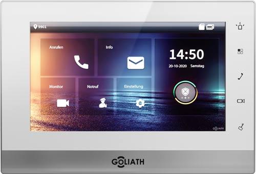 GOLIATH Hybrid 2-Draht Video Türsprechanlage